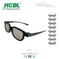 China Eco - Freindly Real D 3D Glasses Circularly Polarized Logo Printed wholesale