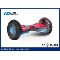 China Bluetooth 10 Inch Self Balancing Scooter Hoverboard Transportation With 2 Wheels wholesale