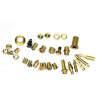 China Mirror Polished Brass Electrical Parts , Brass Machined Parts ISO9001 wholesale