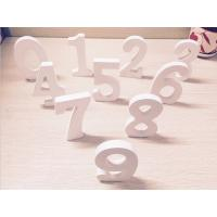 China Wooden Standing 10 Numbers Sign Plaque Decoration Gift wholesale