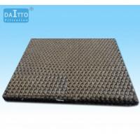 China Basalt Fiber Needle Felt Filter Cloth Green Environmental Protection Blank Color on sale