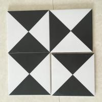 China AAA Grade Ceramic Kitchen Floor Tiles For Decoration Mix Black White Color wholesale
