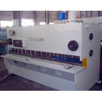 China Electric Hydraulic Guillotine Shear For Metal Cutting , 6*6000 wholesale