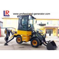 China 1Ton Heavy Construction Machinery , Backhoe Wheel Loader with 50HP YUNNEI Engine wholesale