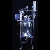 China S212-100L Lab Chemical Automatic Double Layer Glass Jacketed Reactor 100L wholesale