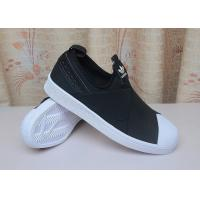 China Adidas Superstar Slip on shoes core black for women and men Adidas running shoes www.apollo-mall.com on sale