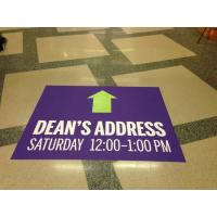 China advertising floor mat stickers wholesale