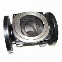 China Carbon Steel Check Valve Body with AISI, ASTM, DIN, GB, BS, JIS, NF and AAR Marks on sale