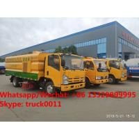 China HOT SALE!2019s new ISUZU Brand road washing sweeper vehicle for sale, Best price ISUZU street sweeping truck for sale wholesale