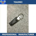 China Custom Car Logo Genuine Leather Keychain Car Parts Key Holder wholesale
