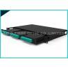 China Pre - o painel 12 x 6 da montagem em rack 4RU do cerco da fibra de Termianted move o cabo de MPO 3.0mm wholesale