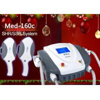 China 2 In 1 Intense Pulsed Light Hair Removal SHR IPL Machine For Women Pulse Width 1 - 15ms on sale