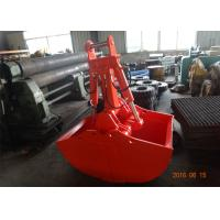 Non Rotate Clamshell Excavator Grapple Bucket For Daewoo DH280 Long Reach