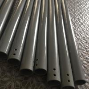 China Extruded ZK60A magnesium alloy tube AZ31B-F magnesium alloy pipe AZ61A welding wire rod bar AZ80 Dia. 13.5 x 1.1 x 275mm on sale