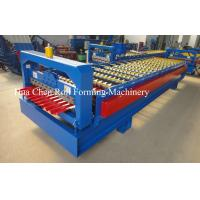 High Speed Color Steel Wall Panel Roll Forming Machine 1250mm With ISO / CE