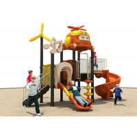 China Winter Protect Plastic Outdoor Swing And Slide Sets With Climbing Function on sale