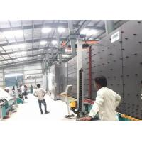 Durable Vacuum Insulating Glass Production Line 50 Mm PLC Control System