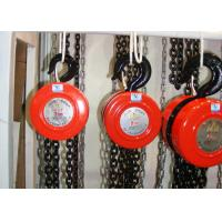 China 1 - 30T Hand Chain Hoist HSZ Manual Pulley Chain Hoist With Alloy Hook wholesale