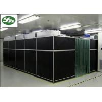 China Vertical Flow Class 100 Cleanroom , PVC Transparent Wall Clean Rooms Easy Move wholesale
