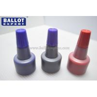 China High Gloss Waterproof Rubber Stamp Ink , Rubber Stamp Permanent Ink wholesale