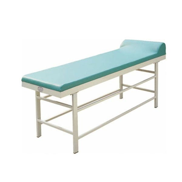 Quality Green Color Medical Examination Couch With Pillow , Portable Medical Exam Table  Hospital Patient Table for sale