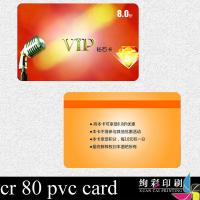China Transparent PVC Contact CPU IC Smart Card For Door , Full Color Both Sides wholesale