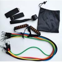 China Exercise Resistance Bands Set With Handles,Ankle Straps, Door Anchor Attachment, Carry Bag on sale