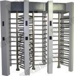 Rotary smart full height turnstiles