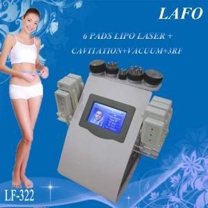 China 6 in 1 portable vacuum rf cavitation laser lipo slimming machine wholesale