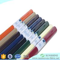 China Colorful PP spunbond nonwoven fabric,polypropylene,wrapping paper for flower,printed nonwoven,black fabric table clothes wholesale