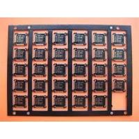 China 1 - 28 Layers 3mil FR4 Single Sided Six Layer PCB  Board with Black Legend wholesale