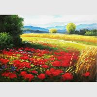 Buy cheap Abstract Palette Knife Painting Impressionist Oil Landscape Painting on Canvas from wholesalers