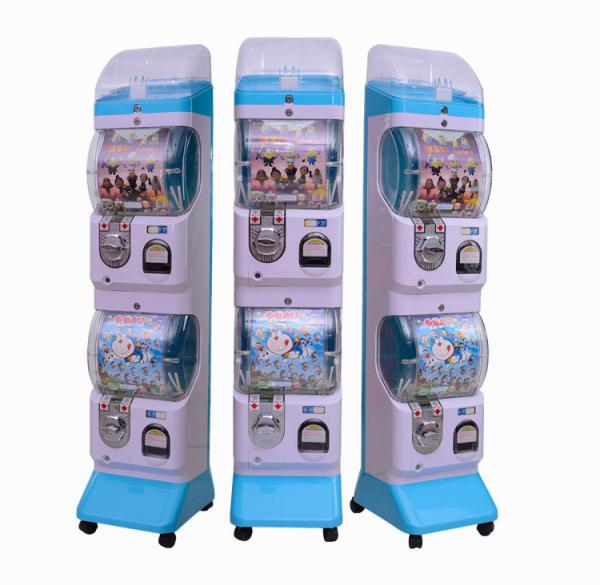 Quality Bouncy Ball Capsule Vending Machine 1-2 Players Beautiful Design Easy To Operate for sale