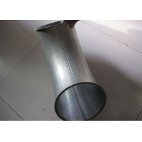 China Ventilation System 100mm Diameter Pressed Bends Dust Extraction Pipe on sale