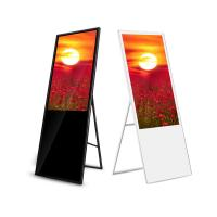 China LCD Kiosk Wifi Digital Signage Touch Screen 55 Inch Android Media Player Totem on sale