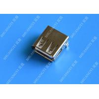 Buy cheap Mini SMD AF Type USB Charging Connector , USB 2.0 4 Pin USB Connector from wholesalers