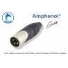 China Aluminum Alloy Male XLR Audio Connector AX3MJ Zinc Diecast Shell Housing wholesale