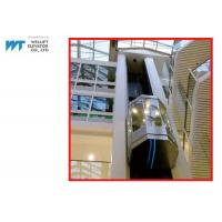 China Shopping Mall Panoramic Glass Elevator With Laminated Safety Glass Cabin on sale