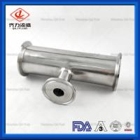 China High Quality Sanitary Tri-clamp Forged Stainless Steel Reducing Tee wholesale