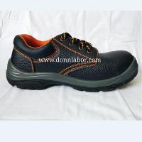 China Cheap Industiral Steel Toe PU Leather Safety Shoes for Men and Women Foot Protection wholesale