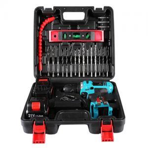 China 25pcs  bits cordless drill power tool set  21V battery  flexible hex shaft wholesale