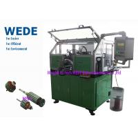 China Dc Motor Copper Wire Coil Winding Machine For Home / Automobile Rotor Hook Commutator wholesale