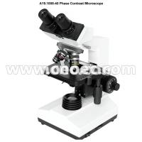 China 40X - 1000X Binocular Phase Contrast Microscopy for Laboratory , A19.1008-40 wholesale