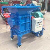 China Small Type Shredder machine Double shaft Shredder machine with good feedback high capacity and low cost wholesale