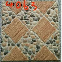 China Stone Design 400x400 Floor Tiles , Patterned Outdoor Tiles 400 X 400 For Kitchen wholesale