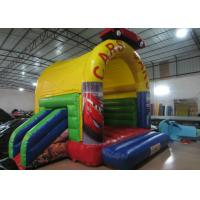 China Simple cars arch roof inflatable combo & inflatable combos bouncer / 3 in 1 combos for kids wholesale