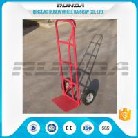 China Durable Steel Hand Truck Dolly HT1805 200KG Load 10inches PU Foam Wheel TUV wholesale