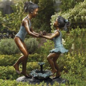 China Classical Bronze Dancer Sculpture wholesale