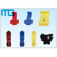China Colorful Open Barrel Terminals Multiple Types Quick Release Terminal Splice Connector wholesale