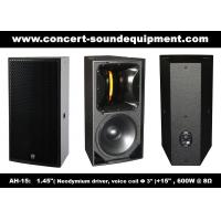 "Buy cheap 600W Nightclub Sound Equipment , 1.4"" + 15"" Full Range Speaker For Show , Disco from wholesalers"